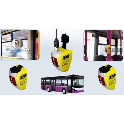 Şarjlı Otobüs Stop Butonu