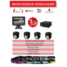 3G-GPS ÖZELLİKLİ ANALOG FULL SET (SET1)